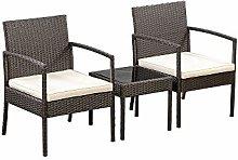 Amazon Basics - Set di sedie da salottino per