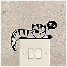 Ambiance-Live switch11-kitten2 Adesivo murale,