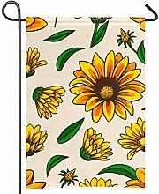 Amonka - Bandiera da giardino a due lati, in