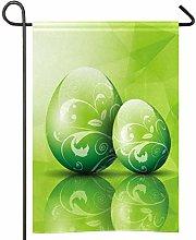 Amonka - Bandiera da giardino con uovo di Pasqua