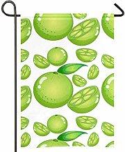 Amonka - Bandiera da giardino in poliestere su due