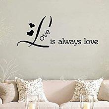 Amore Moderno Adesivo Decorativo Impermeabile
