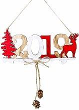 Amosfun 2019 Decorazioni Natalizie Capodanno