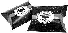 Amosfun 50 pezzi di ringraziamento laurea Cap