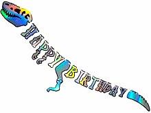 Amosfun Banner di Buon Compleanno Banner a Forma