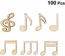 Amosfun Ornamenti di Note Musicali Decorazione in