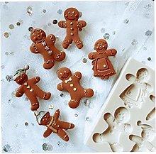 Amoyer Fondente Stampo in Silicone Torta di Natale
