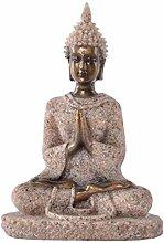 AMOYER Scultura Hue Arenaria Meditazione Statua