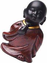 Amuzocity Piccola Statua Buddha in Piedi Scultura