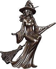 Amuzocity Statuette di Strega Stregoneria Scultura