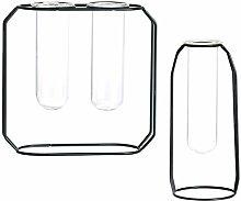 Amuzocity Vaso da Fiori Idroponico 2pcs per Vaso