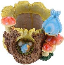 Amuzocity Vaso per Piante Succulente Decorazione