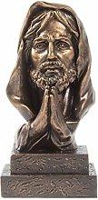 AMYZ Statua di Gesù Cristo Figurina Resina Figlio