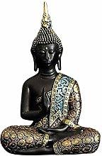 AMYZ Statua Ornamenti Sculture Seduto Statua di