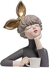 AMYZ Statue Ornaments Sculture Figure in Miniatura