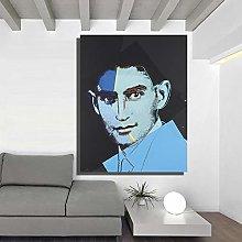 Andy Warhol Franz Kafka dei Dieci Ritratti di