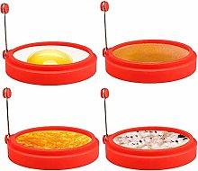 Anelli per uova in silicone, 4 pollici per uso