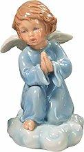 Angelo Celeste Custode Prega in Porcellana