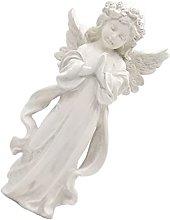 Angelo di Preghiera Statua Giardino Fata Figurine