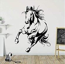 Animal Horse Wall Sticker Camera Dei Bambini