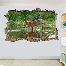 Animale Art Adesivo Murale Stanza Ufficio