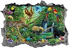 Animali della giungla Safari adesivo decalcomania