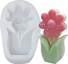 AniYY Stampi in resina epossidica con fiori,