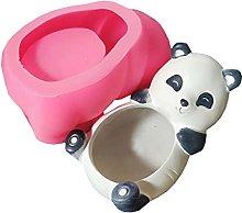 AniYY Stampi in resina epossidica, panda/orso