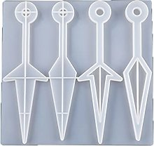AniYY Stampi in silicone, Spada coltello orecchini