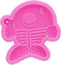 AniYY Stampo in resina, a forma di scheletro di