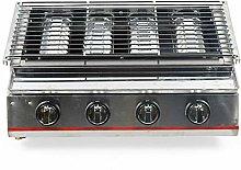 Aohuada - Barbecue a gas a 4 bruciatori, piano