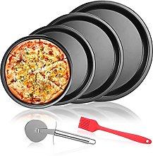 Aokyom® Teglia per Pizza,4 Pezzi Teglia