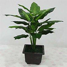Aolongwl Fiori finti in vaso, grandi 50 cm, pianta