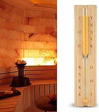 Aoutecen Clessidra per Sauna Facile da Usare per