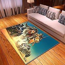 appeto Grigio Blu tappeto salotto moderno faux