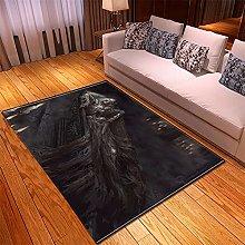 appeto Grigio tappeto salotto moderno faux