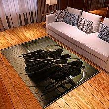 appeto Nero, Grigio tappeto salotto moderno faux