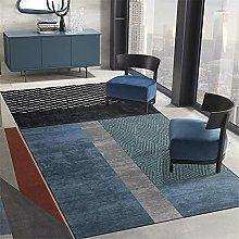 appeto ufficio Bedroom tappeto blu nero rettangolo