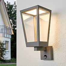 Applique Chaja a lanterna con sensore di movimento