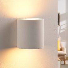 Applique di gesso Krista con lampadina LED G9