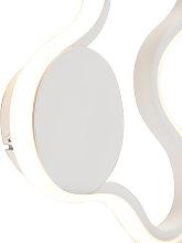 Applique moderna bianca LED - PLOMP