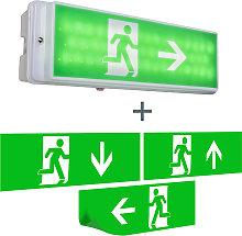 Applique per uscita di emergenza LED IP65 -