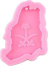 Arabia Saudita Mappa Stampo in silicone Resina