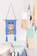 Arazzo Decorativo Zambia Kids Giraffe Sklum