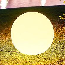Arcchio Orlana sfera luminosa IP65 operata 45cm