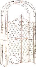 Arco per Piante Rampicanti Melissa Antico/marrone
