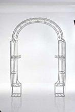 Arco romantico Alessia ferro 34x164x264cm bianco