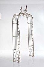 Arco romantico Aurora ferro 30x85x202cm marrone