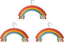 Arcobaleno Rotante Appendiabiti Multifunzionale
