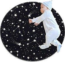 Area Tappeto Tappeto Rotondo Cielo stellato per
